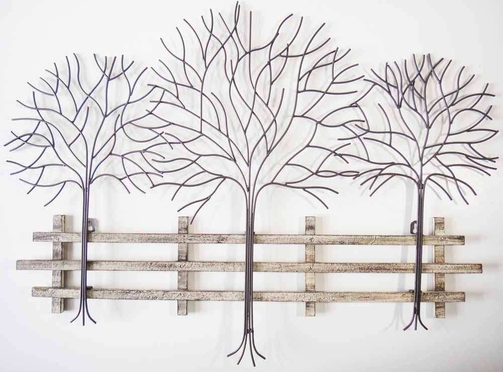 2017 Wrought Iron Tree Wall Art Inside Metal Family Tree Wall Decor Best Of Wall Art Designs Magnificent (View 2 of 15)