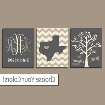 2017 Zspmed Of Last Name Wall Art Good About Remodel Small Home Remodel Intended For Last Name Wall Art (View 10 of 15)