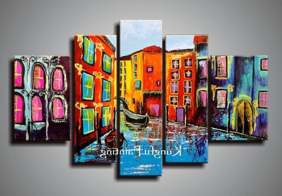 [%2018 100% Hand Painted Abstract 5 Panel Canvas Art Living Room Wall Throughout Best And Newest Abstract Living Room Wall Art|Abstract Living Room Wall Art Inside Well Known 2018 100% Hand Painted Abstract 5 Panel Canvas Art Living Room Wall|2018 Abstract Living Room Wall Art In 2018 100% Hand Painted Abstract 5 Panel Canvas Art Living Room Wall|Current 2018 100% Hand Painted Abstract 5 Panel Canvas Art Living Room Wall Inside Abstract Living Room Wall Art%] (View 15 of 15)