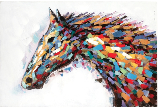 2018 Abstract Horse Wall Art Throughout Modern Western Wall Art We Love – Cowgirl Magazine (View 2 of 15)
