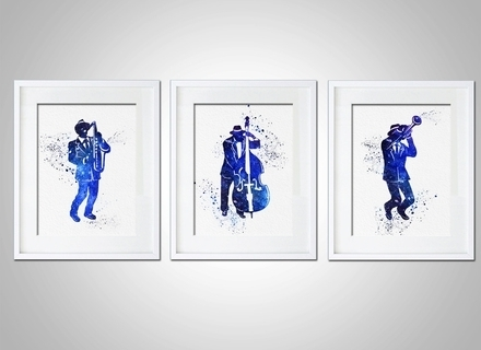 2018 Abstract Jazz Band Wall Art Pertaining To 31 Jazz Wall Art, Wall Art Design Ideas: Marvelous Jazz Dancers (View 2 of 15)
