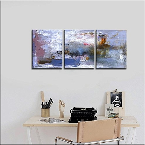 "2018 Abstract Nature Canvas Wall Art Throughout Canvas Wall Painting "" Abstract Nature"" Canvas Prints Modern (View 7 of 15)"