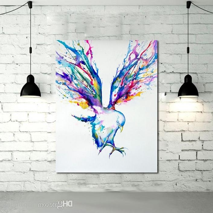 Featured Photo of Abstract Bird Wall Art