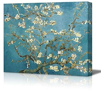 2018 Almond Blossoms Vincent Van Gogh Wall Art Pertaining To Amazon: Wall26 – Almond Blossomvincent Van Gogh – Oil (View 2 of 15)