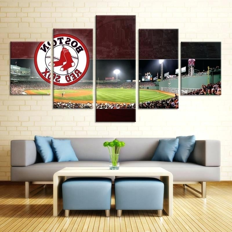 2018 Boston Red Sox Wall Art Within Boston Red Sox Wall Art Red Wall Art Red Wall Art Red Wall Art Best (View 12 of 15)