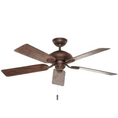 2018 Casablanca – Brown – Ceiling Fans – Lighting – The Home Depot With Regard To Casablanca Outdoor Ceiling Fans With Lights (View 1 of 15)