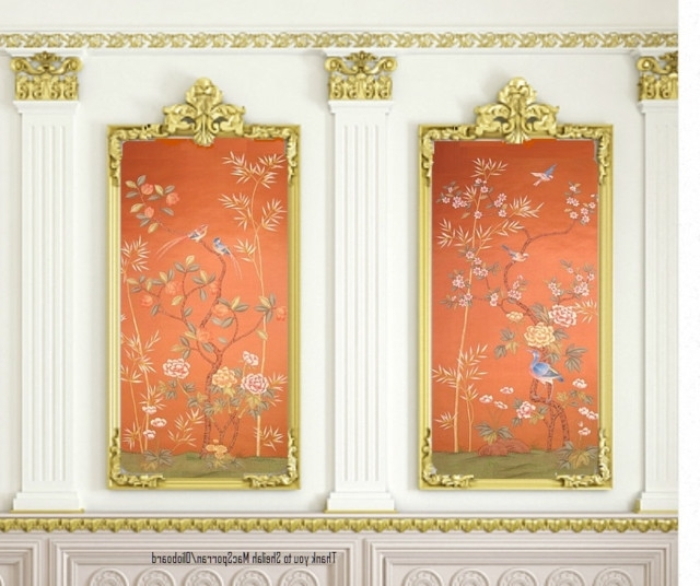 2018 Chinoiserie Wall Art Throughout Wall Art Ideas Design : Removable Pictures Ideas Chinoiserie Wall (View 2 of 15)