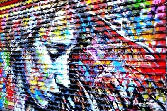 2018 Colorful Wall Art Urban Photography Rainbow Bright Vibrant Home Within Vibrant Wall Art (View 11 of 15)