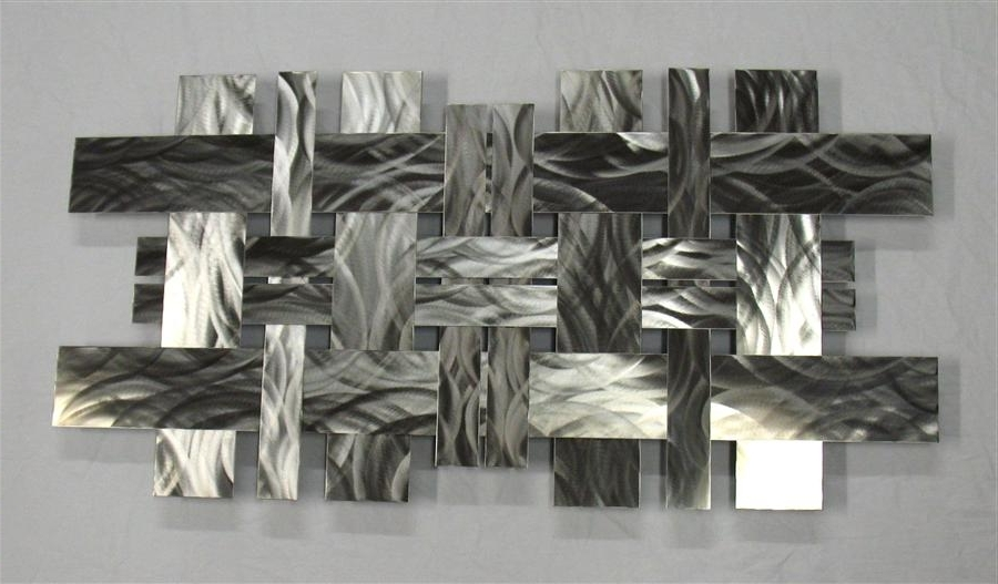 2018 Contemporary Metal Wall Art Sculpture Stainless W Richard Walker pertaining to Contemporary Metal Wall Art Sculpture