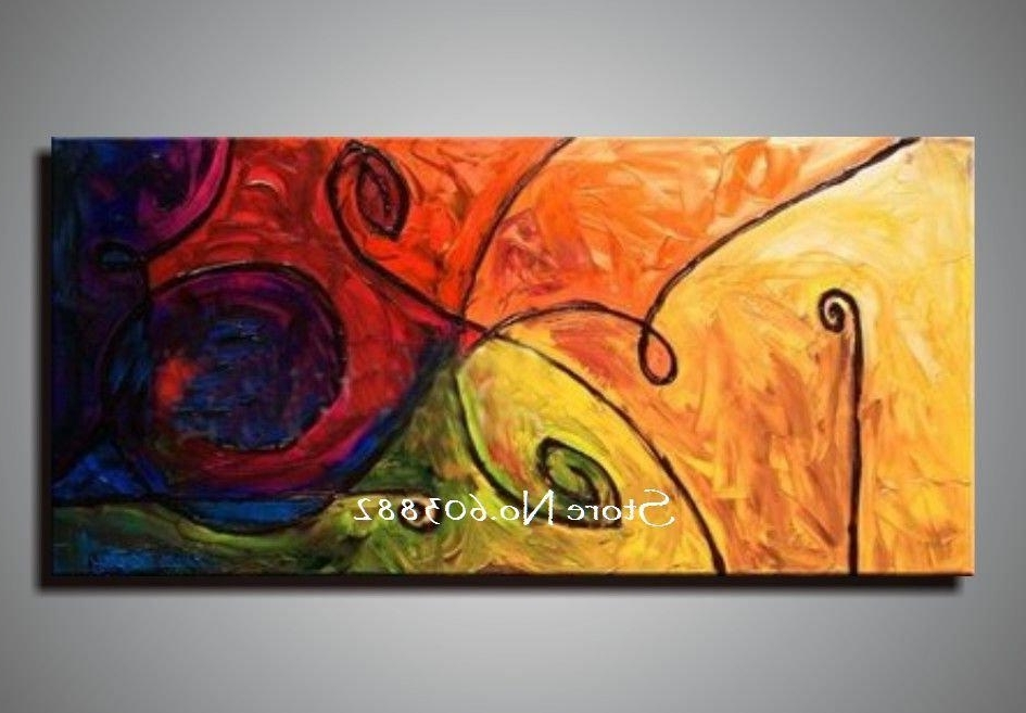 [%2018 Discount 100% Handmade Large Canvas Wall Art Abstract Painting Throughout Widely Used Abstract Wall Art Canvas|Abstract Wall Art Canvas Within Famous 2018 Discount 100% Handmade Large Canvas Wall Art Abstract Painting|2018 Abstract Wall Art Canvas With 2018 Discount 100% Handmade Large Canvas Wall Art Abstract Painting|Most Recent 2018 Discount 100% Handmade Large Canvas Wall Art Abstract Painting Intended For Abstract Wall Art Canvas%] (View 14 of 15)