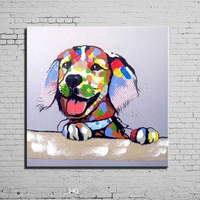 [%2018 Dog Cartoon Canvas Painting Texture 100% Hand Painted Modern For Preferred Abstract Dog Wall Art|Abstract Dog Wall Art Intended For Trendy 2018 Dog Cartoon Canvas Painting Texture 100% Hand Painted Modern|2017 Abstract Dog Wall Art With 2018 Dog Cartoon Canvas Painting Texture 100% Hand Painted Modern|2017 2018 Dog Cartoon Canvas Painting Texture 100% Hand Painted Modern With Regard To Abstract Dog Wall Art%] (View 7 of 15)