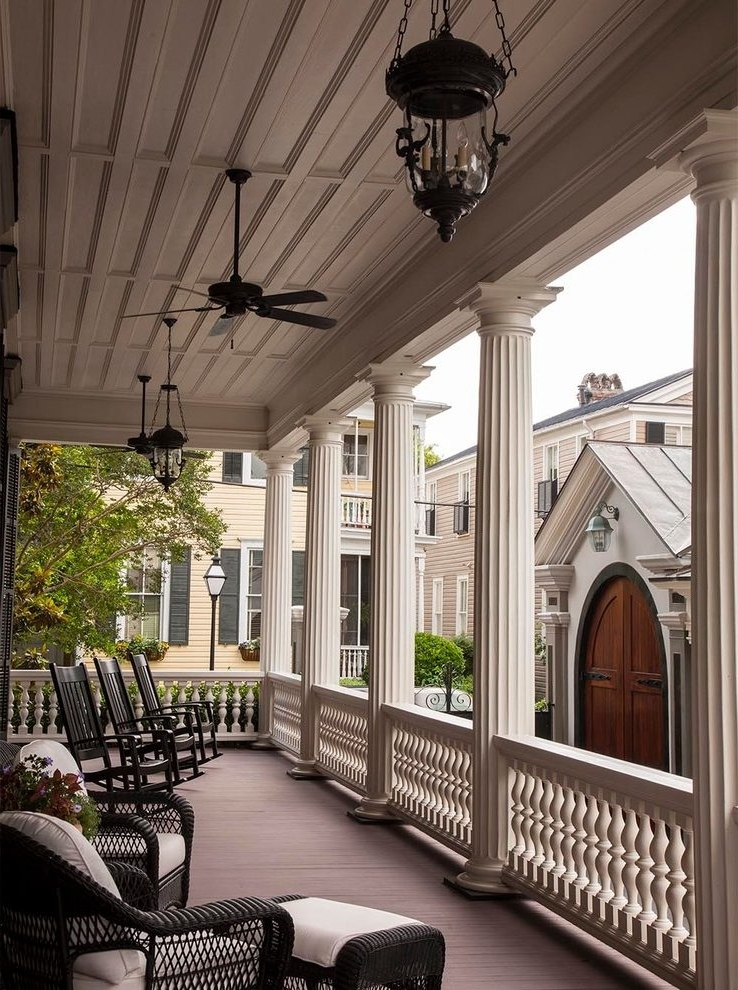 2018 Good Looking Cottage Style Ceiling Fans Porch Victorian With Pendant Inside Victorian Outdoor Ceiling Fans (View 2 of 15)