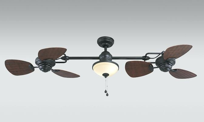 2018 Harbor Breeze Outdoor Ceiling Fans With Harbor Breeze Outdoor Ceiling Fan The Twin Ii Inch Oil Rubbed Bronze (View 8 of 15)