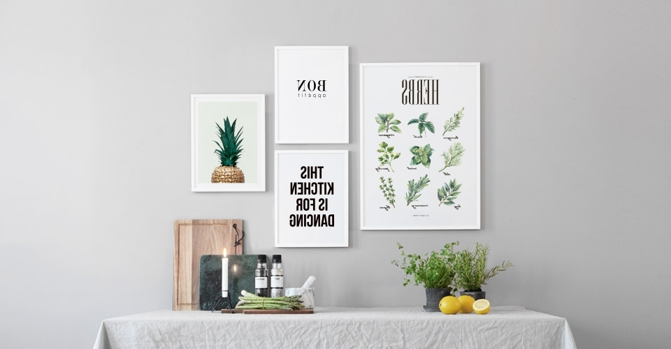 2018 Kitchen Wall Art And Posters For The Kitchen At Desenio.co (View 4 of 15)