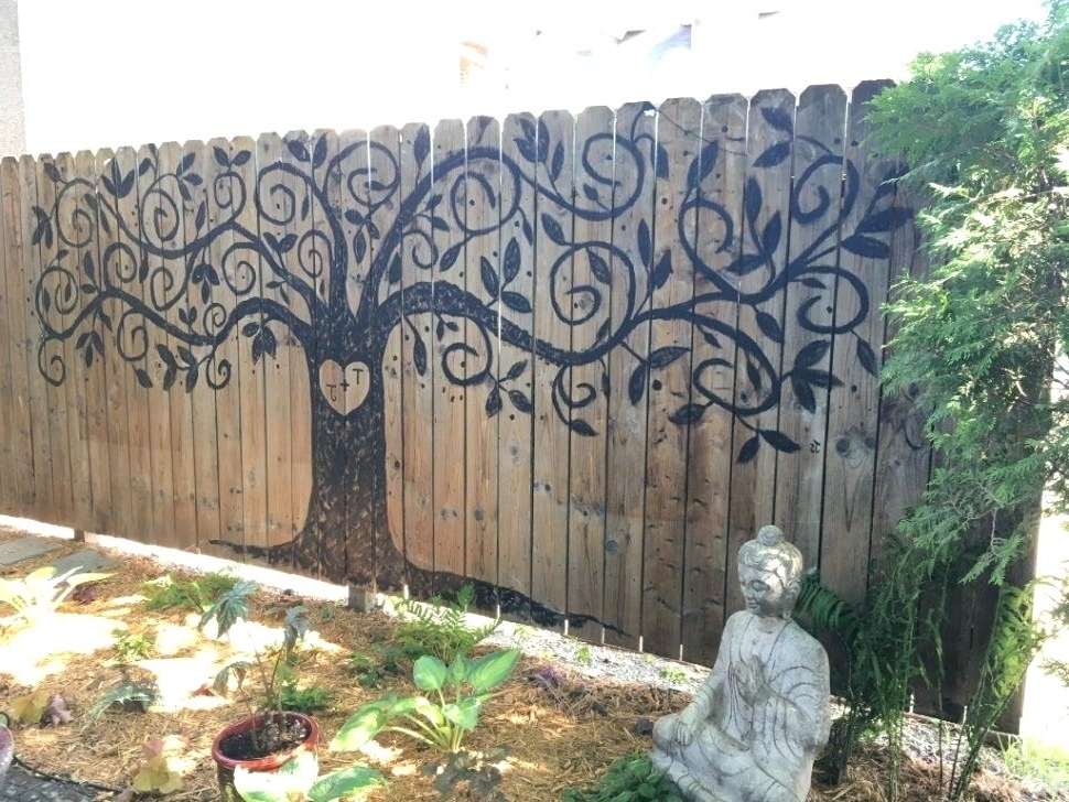 Featured Photo of Large Garden Wall Art