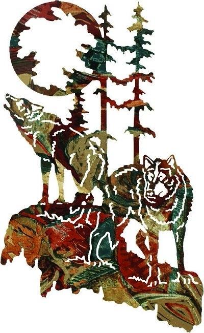 2018 Lazart Metal Art Within Lazart Wilderness Wildlife Lodge Art (View 15 of 15)