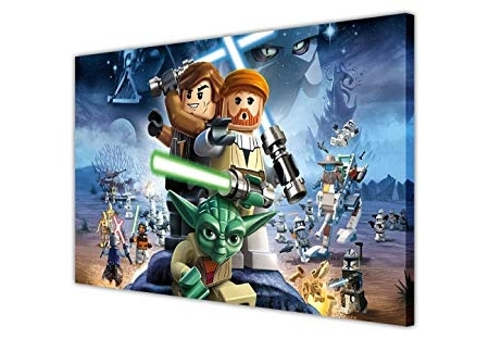 2018 Lego Star Wars Wall Art Regarding Lego Star Wars Canvas Wall Art Prints Pictures Room Decoration (View 2 of 15)