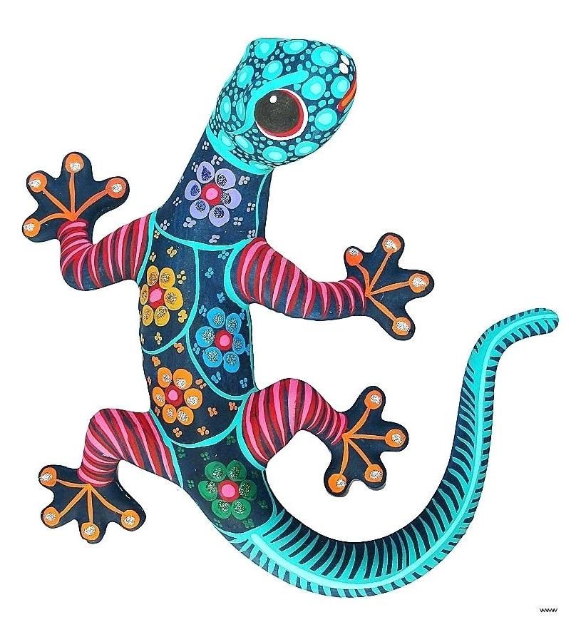 2018 Mexican Metal Yard Wall Art Metal Wall Art New Medium Gecko Fandango In Mexican Metal Wall Art (View 10 of 15)