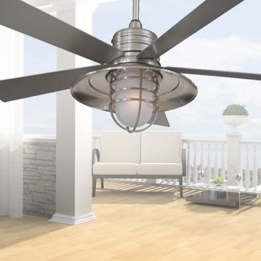 2018 Minka Aire Outdoor Ceiling Fans With Lights Pertaining To Minka Aire Ceiling Fans: Light Wave, Concept Ii, Artemis, New Era (View 1 of 15)