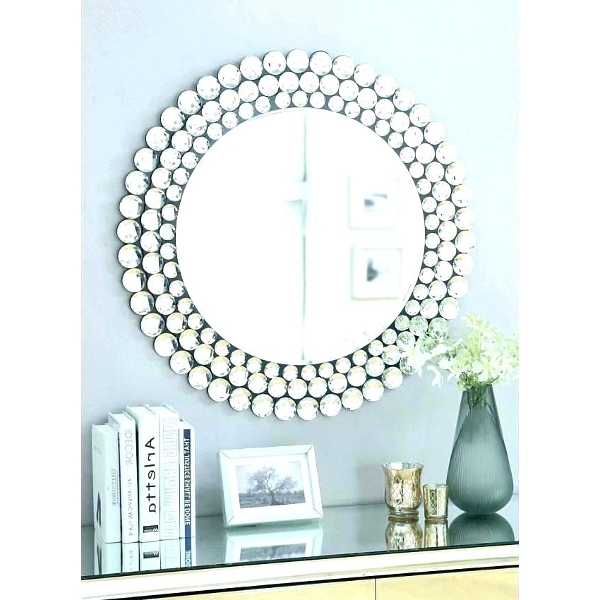 2018 Mirrors Modern Wall Art Pertaining To Mirrors Decoration On The Wall Wall Art Mirrors Modern Contemporary (View 2 of 15)