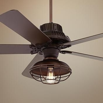 2018 Outdoor Ceiling Fans – Damp And Wet Rated Fan Designs (View 8 of 15)