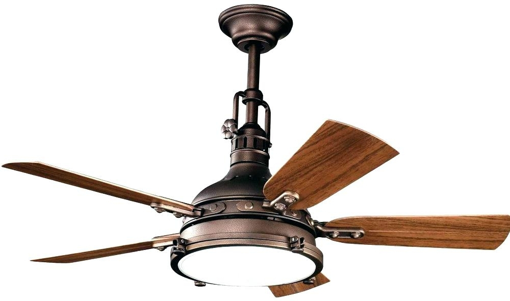 2018 Outdoor Ceiling Fans Light Kit Rustic Ceiling Fan Light Kit Antique Pertaining To Rustic Outdoor Ceiling Fans (View 2 of 15)
