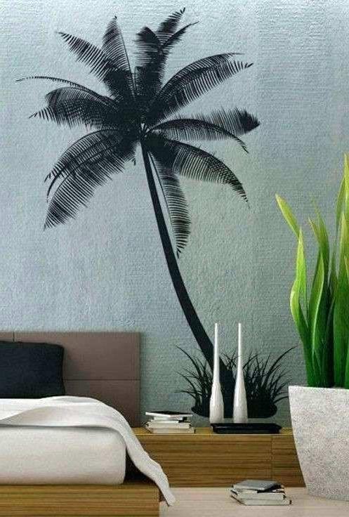 2018 Palm Tree Metal Art Inside Palm Tree Wall Decor Palm Tree Wall Decoration Palm Trees Wall Decor (View 15 of 15)