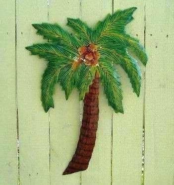 2018 Palm Tree Metal Art With Regard To Palm Tree Wall Art Better Palm Trees Wall Art Four Palm Natural (View 3 of 15)