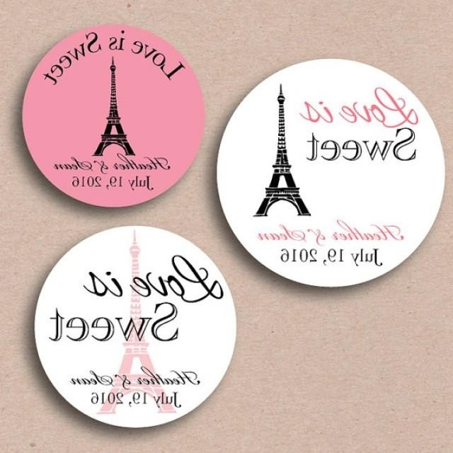 Featured Photo of Paris Themed Stickers