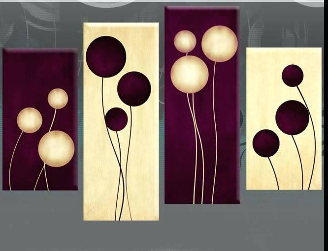 2018 Plum Wall Art With Regard To Plum Canvas Wall Art Other Plum Coloured Canvas Wall Art (Gallery 6 of 15)