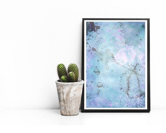2018 Printable Abstract Wall Art With Abstract Art Watercolor Printable Abstract Print Abstract (View 2 of 15)