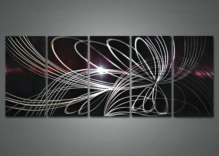 2018 Sculpture Abstract Wall Art Pertaining To Abstract Metal Wall Sculpture Wall Abstract Metal Wall Sculpture (View 11 of 15)