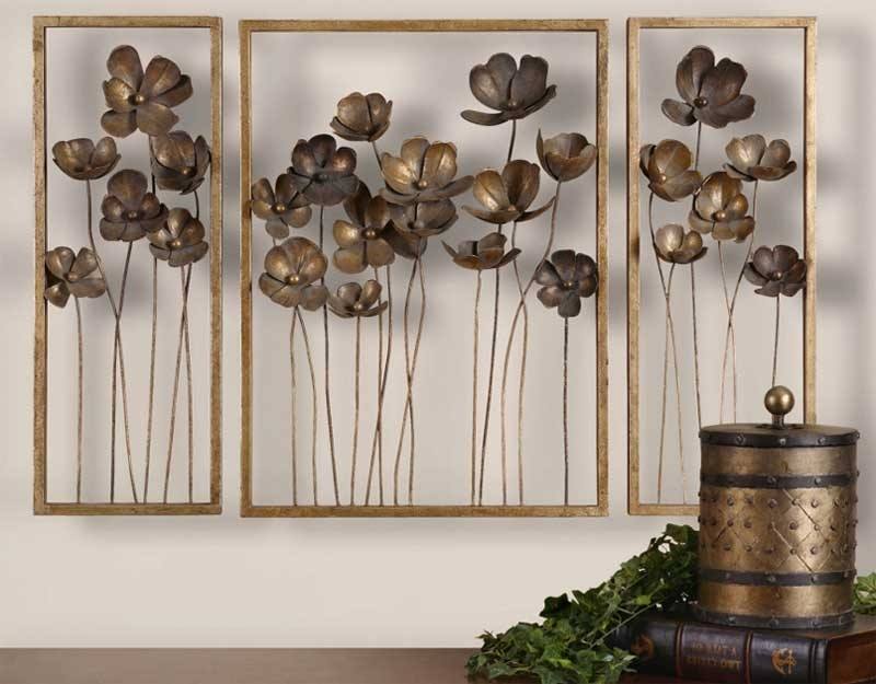 2018 Select Large Metal Wall Decor (View 5 of 15)