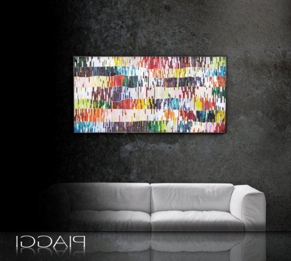 2018 Shimm R Mosaic Contemporary Glass Wall Art Panel With Regard To Glass Wall Art Panels (Gallery 14 of 15)