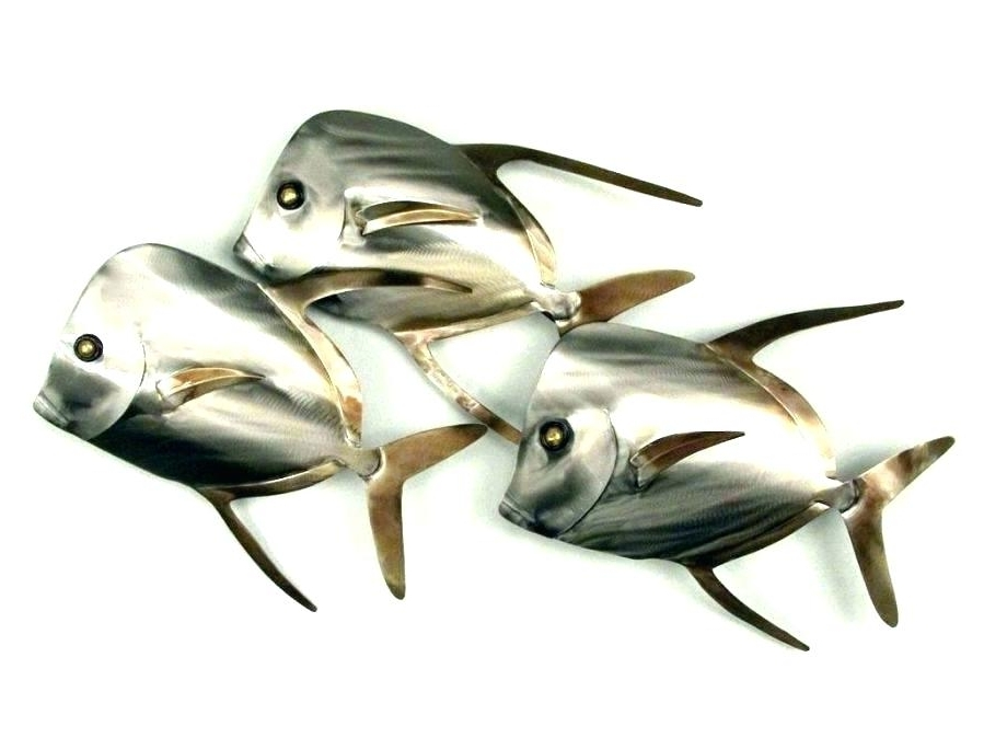 2018 Stainless Steel Fish Wall Art Wall Steel Fish Wall Art Metal Fish Pertaining To Stainless Steel Fish Wall Art (View 1 of 15)