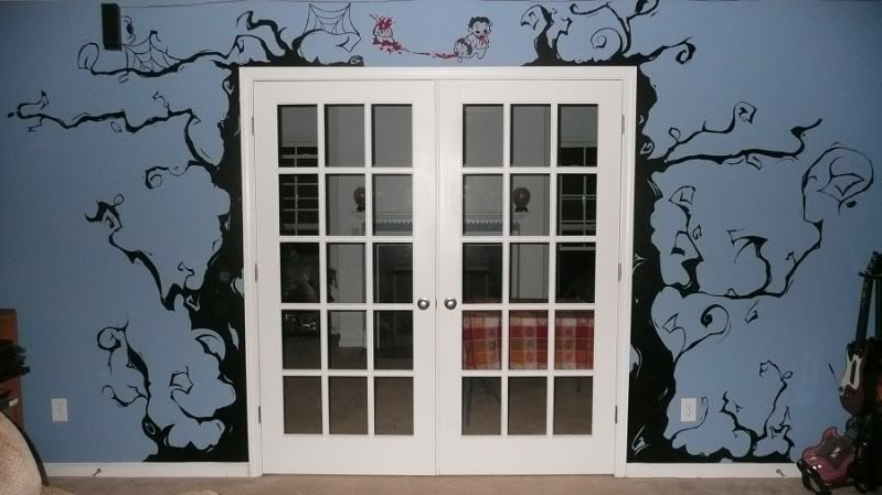 2018 Tim Burton Wall Decals (Gallery 3 of 15)