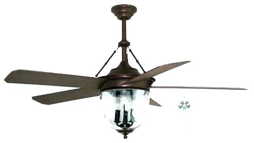 2018 Traditional Outdoor Ceiling Fans With Outdoor Ceiling Fan And Light Outdoor Fans In Oiled Bronze Gilded (View 12 of 15)