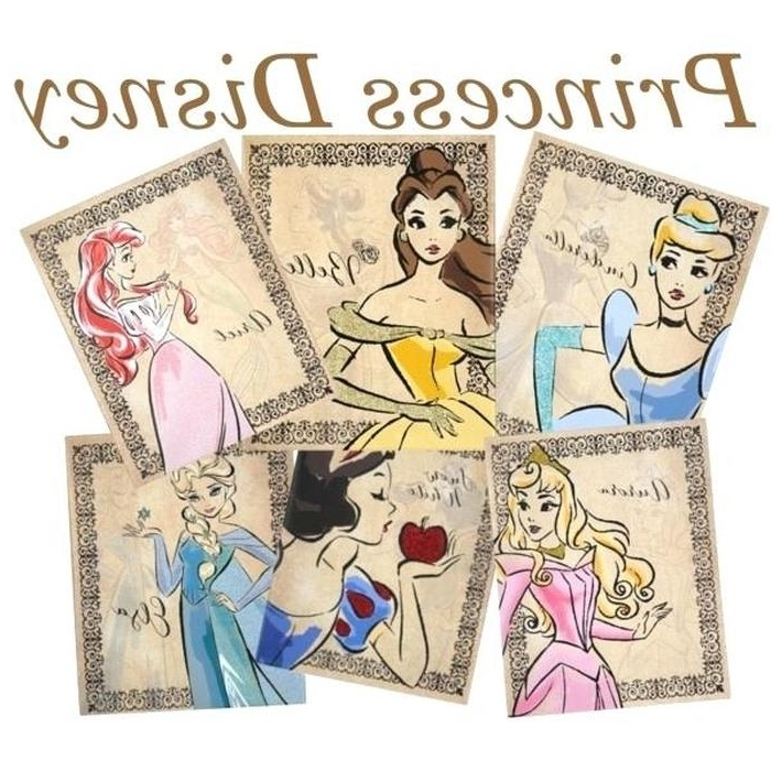 3. Fashionista Canvas Art Princess Canvas Wall Art 1 An Collage From inside Well-liked Princess Canvas Wall Art