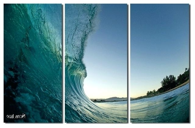 3 Piece Beach Wall Art In Latest 3 Piece Canvas Wall Art Set Wall Art Design Ideas Marvelous Prints (View 9 of 15)