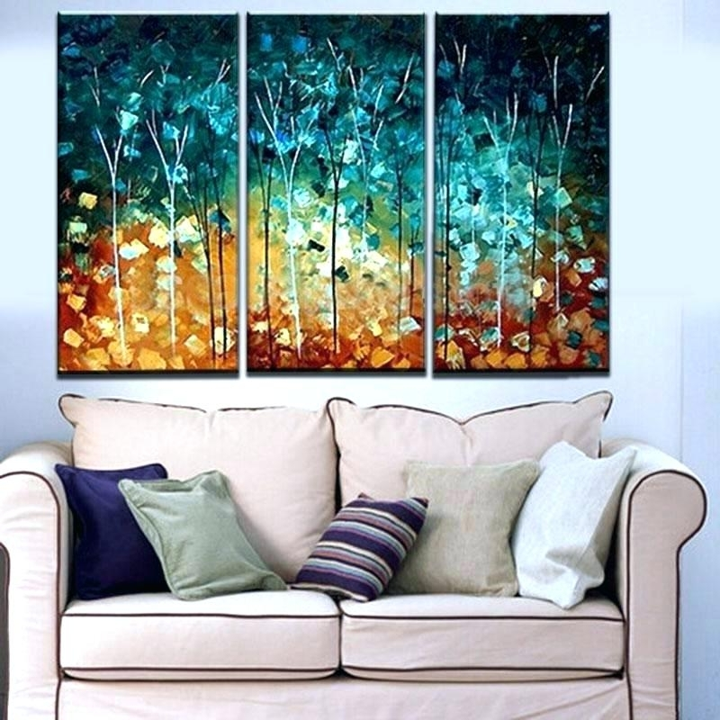 3 Piece Wall Art Sets Pertaining To Well Known Canvas Wall Art Sets 3 Piece Framed Set Amazing Design Cheap – Pixello (View 7 of 15)