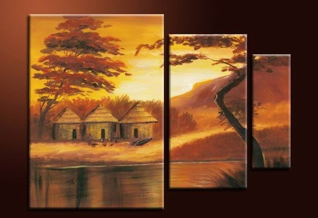 3 Piece Wall Art Sets throughout Newest 3 Piece Wall Art - Affordable Canvas Art Sets - Free Shipping