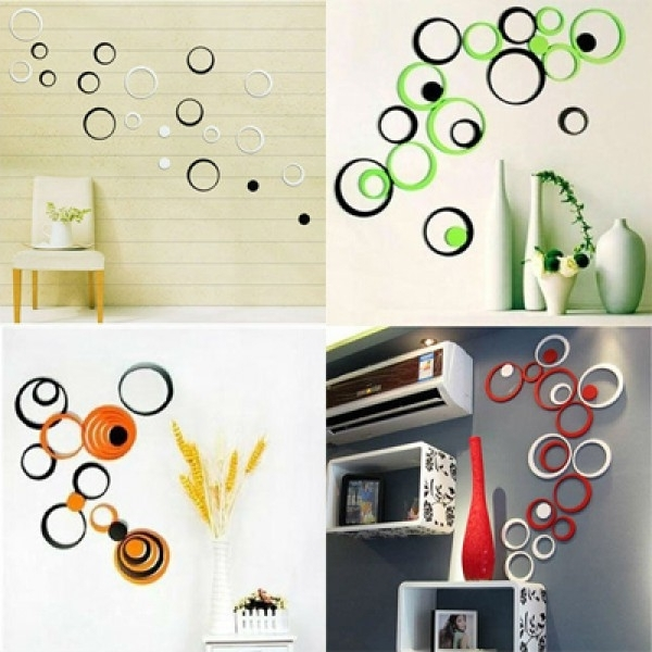 3D Circle Wall Art In Preferred On A Budget? Decorate Walls With Inexpensive 3D Wall Art At Art Gaga (View 8 of 15)
