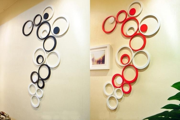 3D Circle Wall Art With Regard To Latest (View 3 of 15)