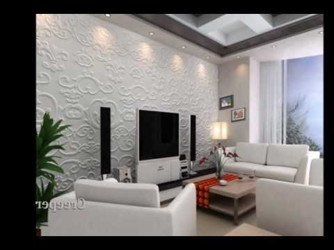 3D Ecocien Wall Panels – Youtube Inside Most Recent Vidella 3D Wall Art (View 7 of 15)