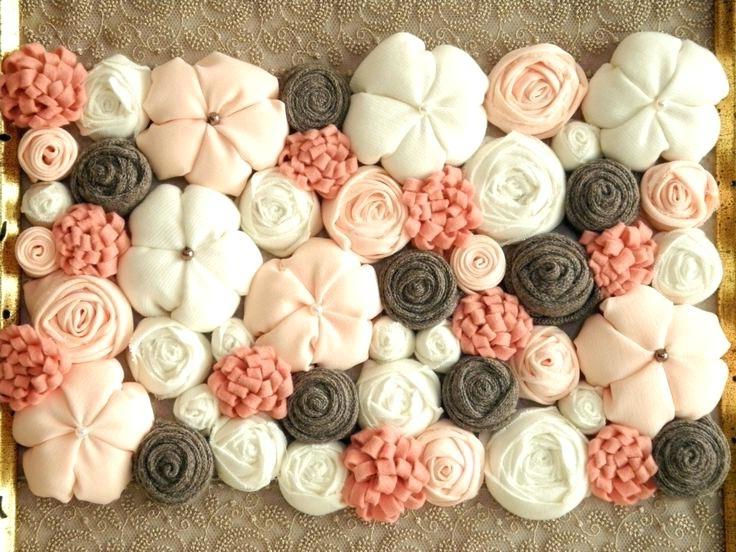 3D Felt Flower Wall Art. 3D Flower Wall Art Template Amazing Ideas in Latest 3D Flower Wall Art