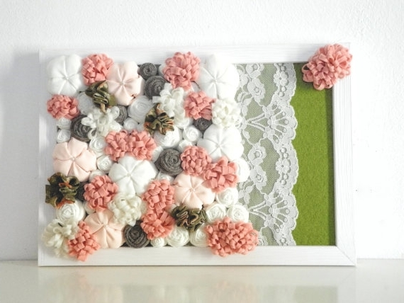 3D Flower Wall Decor For Large Wall Decor – Rfequilibrium 3D With Most Popular 3D Flower Wall Art (View 5 of 15)