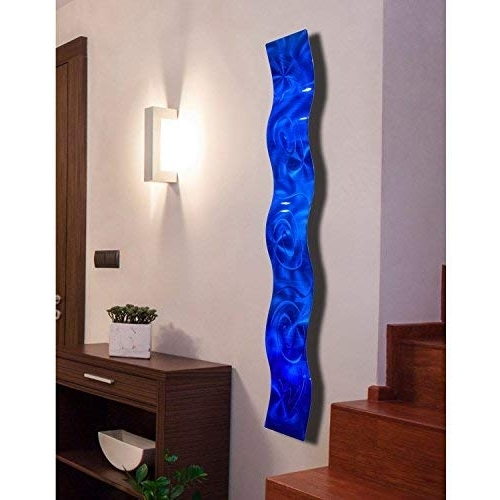 3D Glass Wall Art Throughout Trendy Glass Wall Art: Amazon (View 7 of 15)