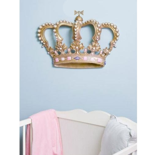 3D Princess Crown Wall Art Decor Inside Popular Baby Furniture & Bedding 3D Princess Crown Wall Art Decor (View 3 of 15)