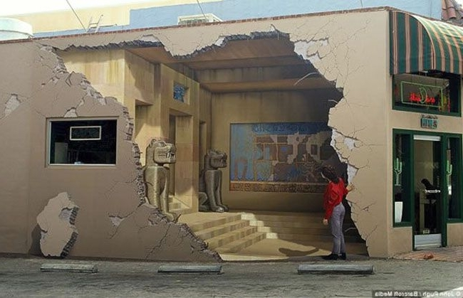 3D Street Art (View 5 of 15)