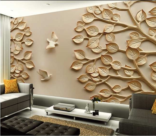 3D Wall Art Decor Inspirational Image Gallery Large 3D Wall Art Within Favorite 3D Wall Art Wallpaper (View 3 of 15)